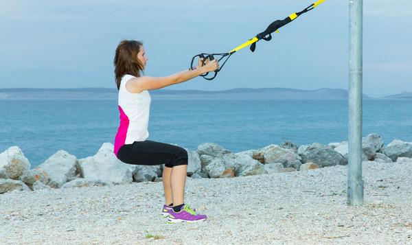 Suspension Trainer Squat