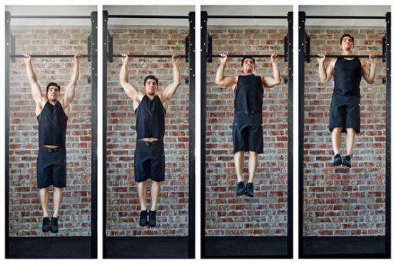 Push + Pull Bodyweight Workout